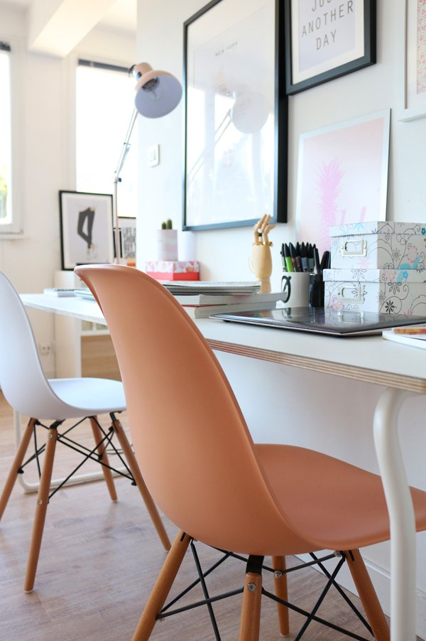 Chaise DSW de Charles & Ray Eames chez Superestudio.fr